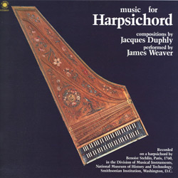 Jacques Duphly: Music for Harpsichord (N004)
